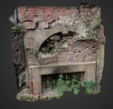 Beamish, fireplace