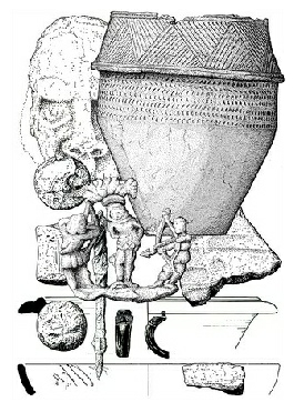 archaeological illustration