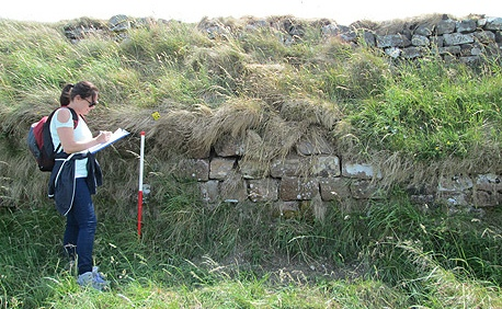 Surveying Hadrian's Wall