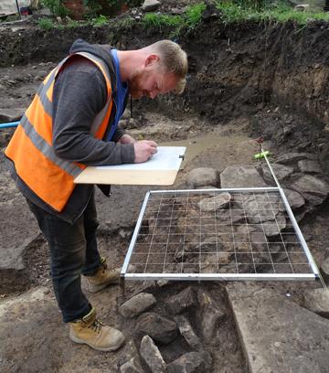 Recording a Roman surface